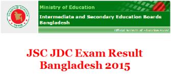 JSC result Bangladesh 2015