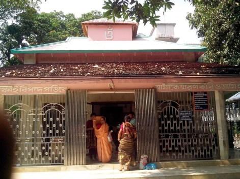 Main Tempal in Ashram Barodi