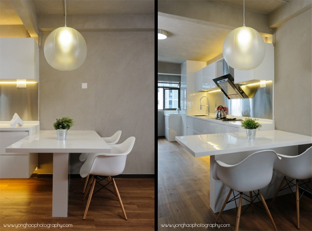 Dining Area & Kitchen by YongHao Photography