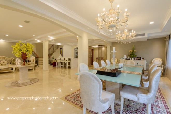 yonghao photography, interior, interior design, interior photogaphy, singapore, modern classic design, home, landed properties, ej square, dining area