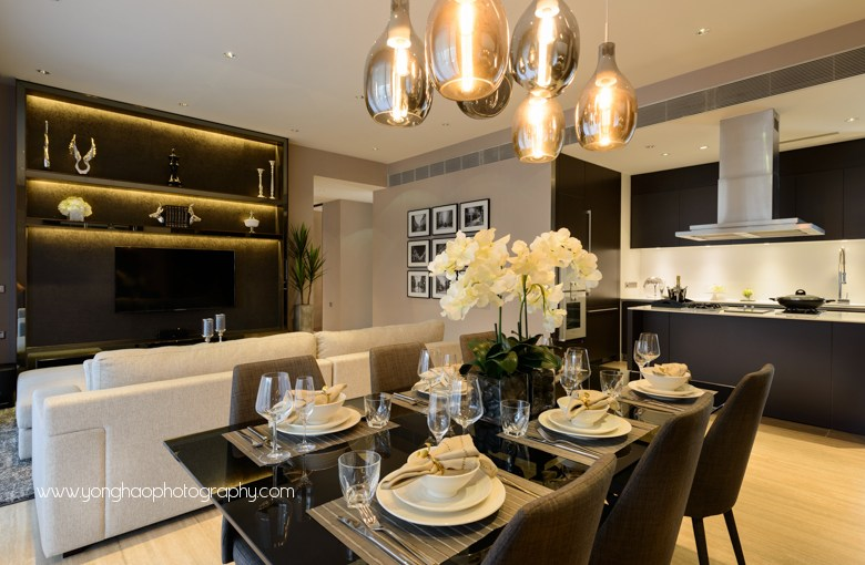 Interior Photography of Goodwood Residences showflat by AKDS