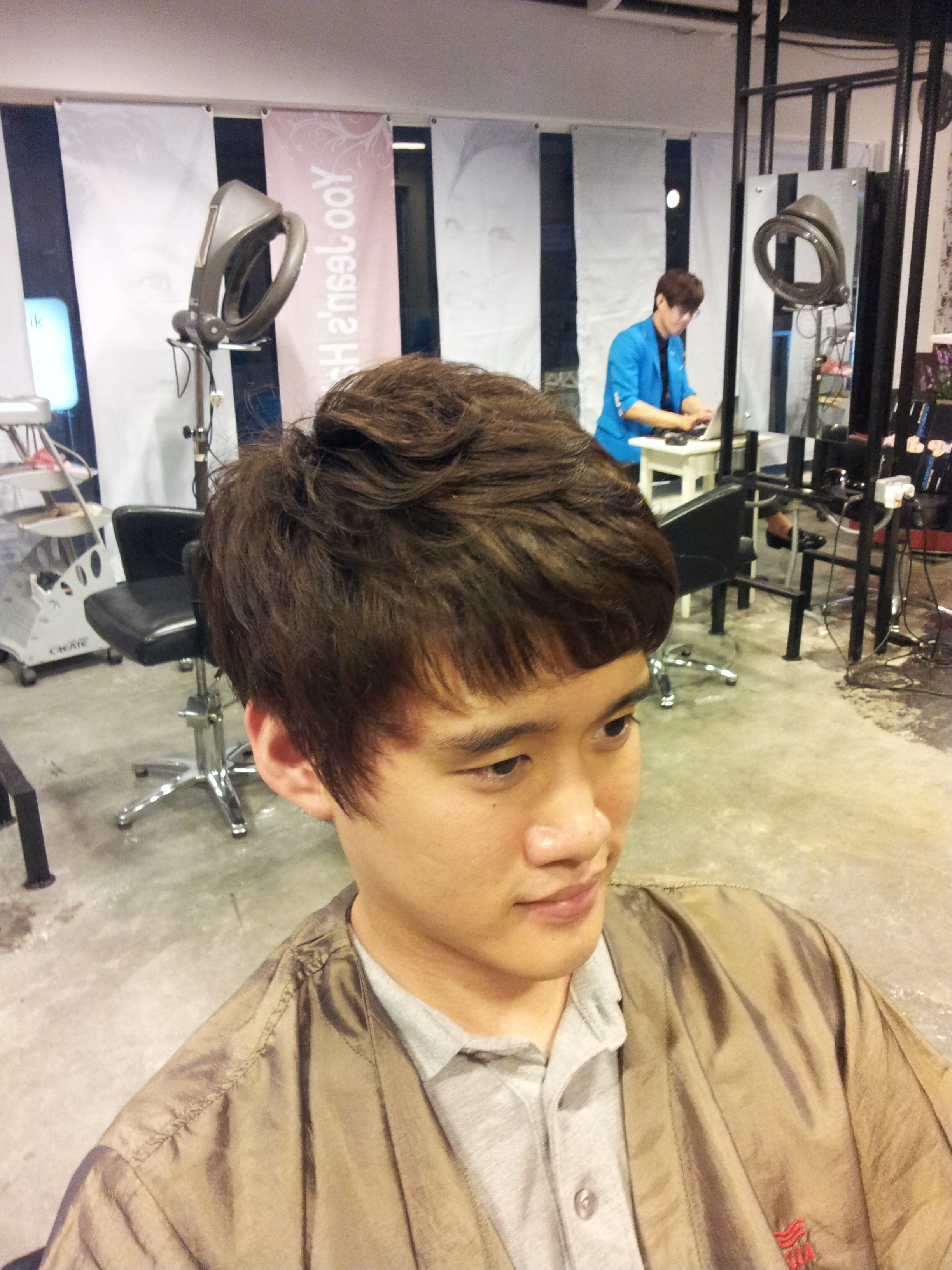 Straight perm for guys - 20140228_194059 20140228_194221