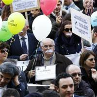 No joke: Italy lawyers strike for better pay, job security