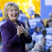 Party insiders give Clinton early, commanding delegate edge