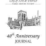 June 2015, 40th Anniversary Journal