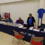 Pam Elliott and her Help Desk.