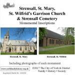 Another NEW MI – Strensall St. Mary, Strensall Garrison Church and Strensall Cemetery