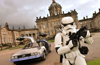 DeLorean time machine transports Castle Howard 'back to ...