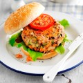 Salmon burger_ by Steve Lee - COVER