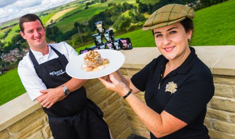 Ultimate English Yorkshire Day's Sweet Yorkshire Pudding at the Fleece Countryside Inn