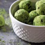 When you infuse truffles with antioxidantpacked matcha you can eathellip
