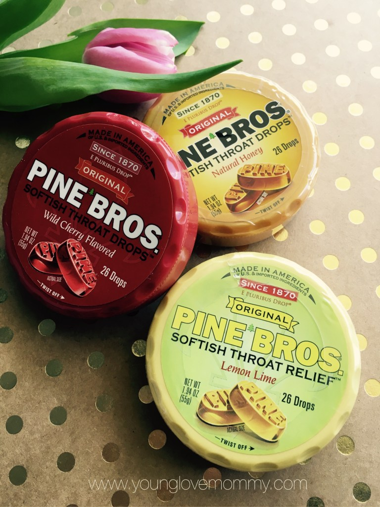pine brothers throat drops