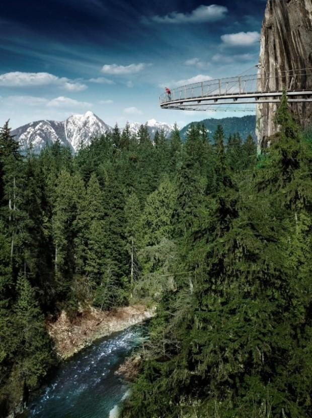 Cliff Walk, Vancouver, British Columbia, Canada