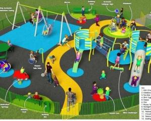 Refurbishmnet of St Johns Play Area, Northwich, Cheshire
