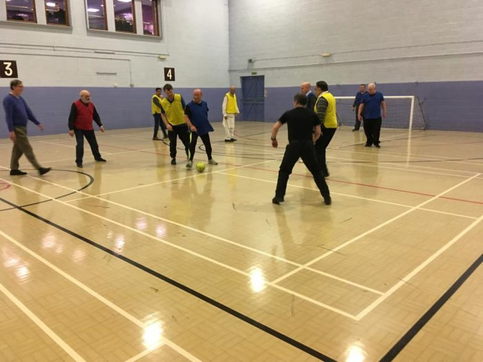 Walking Football Match 17