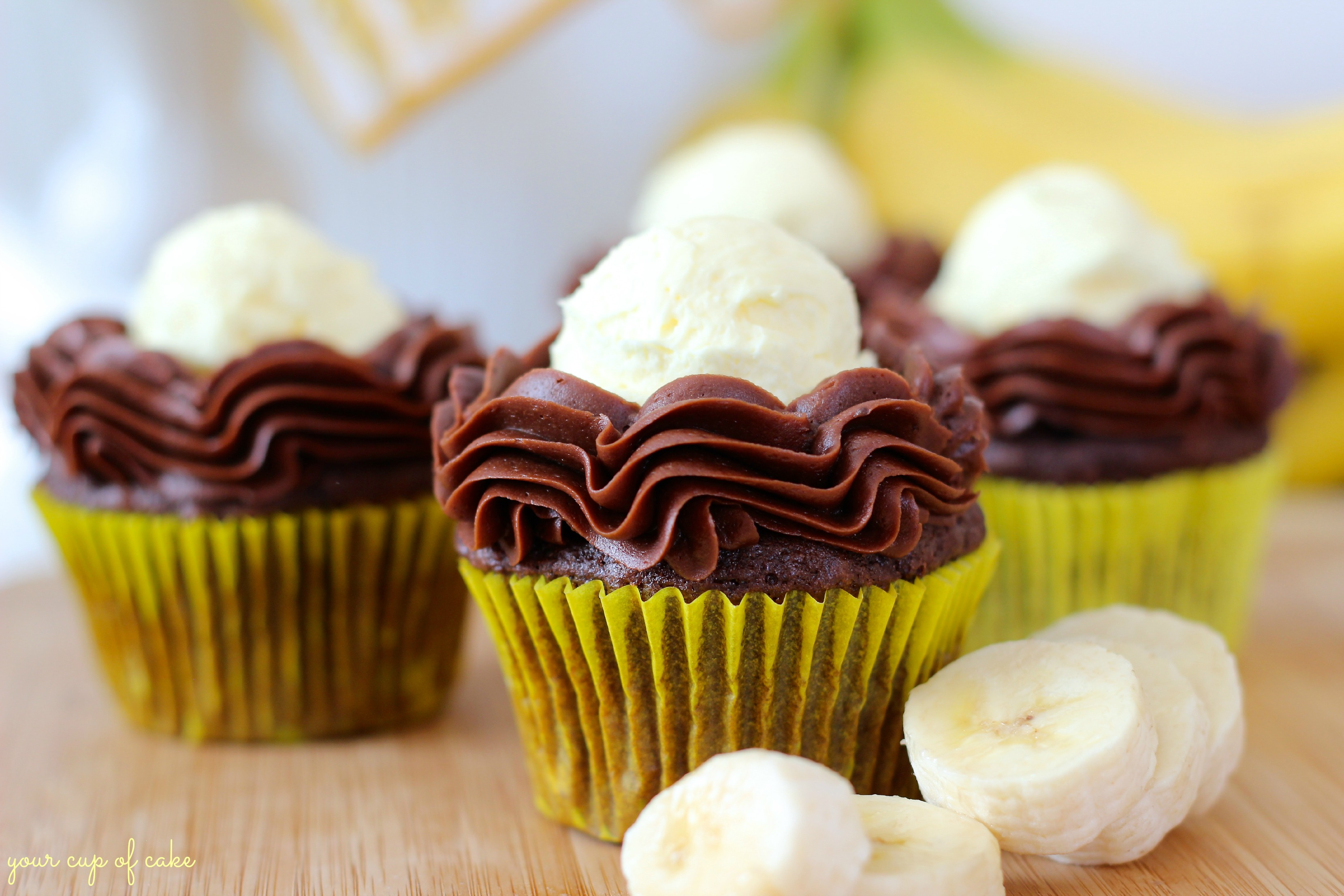 Fullsize Of Banana Cream Cake