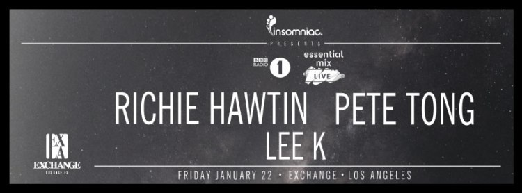 Richie Hawtin Announces Live Pete Tong BBC Recording In Los Angeles & Miami