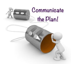Your Family RD's Tuesday Tip- Communicate the Plan!
