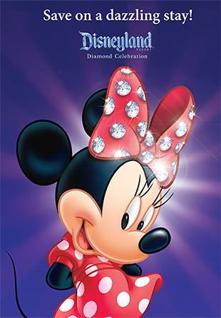 DISNEYLAND STAY IN THE MIDDLE OF THE DIAMOND CELEBRATION THIS SEASON AND SAVE