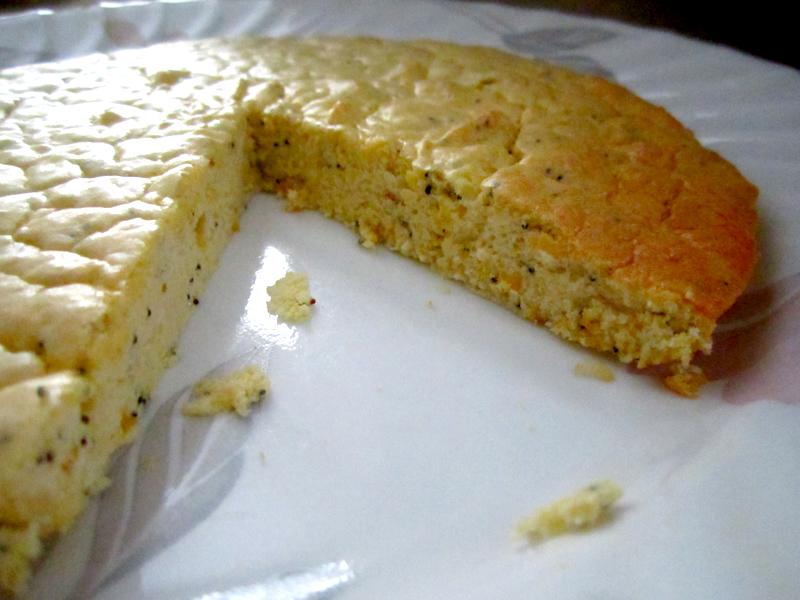 Low Carb Lemon Chiffon Cake