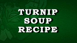 Turnip Soup Recipe