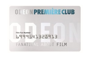 ODEON Première Club Card