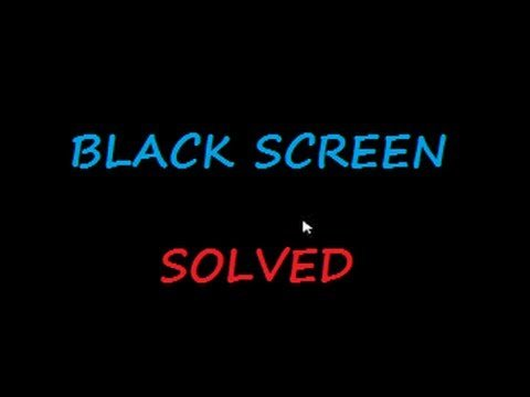 schermata-nera-con-puntatore-windows-10