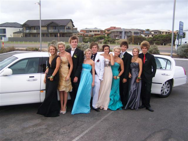 School Ball Limo Sorrento