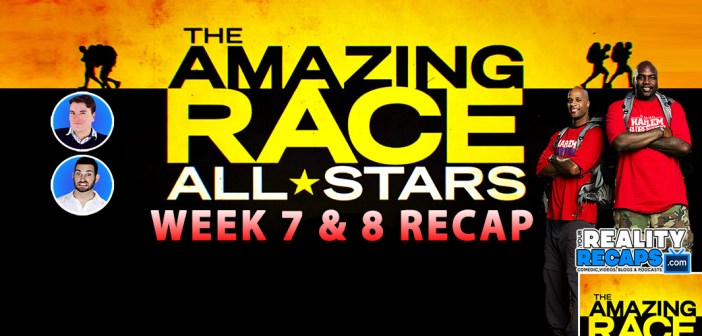 The Amazing Race 24 All Stars Week 7 & 8 Video Recap