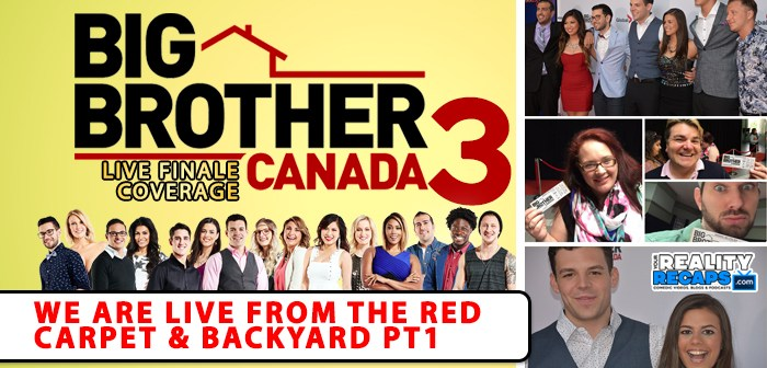 Our #BBCAN3 Finale Night Pics & Videos Part 1