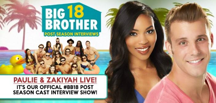 #BB18 Post Season Interview: Paulie Calafiore & Zakiyah Everette