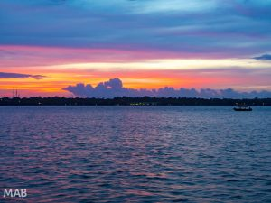Sunset from Cosmic Crab Bocas