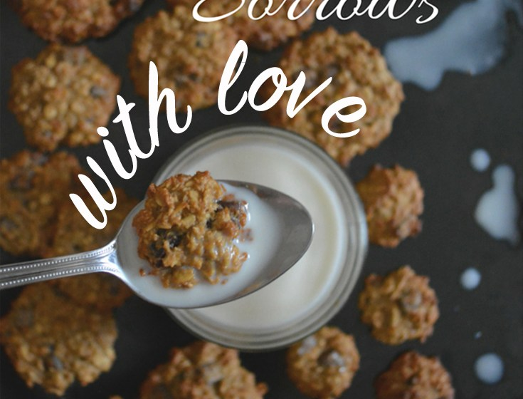 Comfort your sorrows with love not cookies