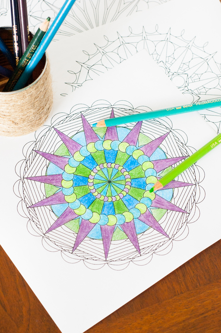 Disneys recess coloring pages - Create Your Own Mandala Adult Coloring Pages You Should Craft On Make Your Own Mandala Coloring