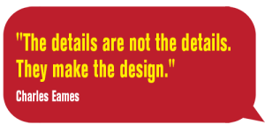 TheDetailsAreNot-Charles Eames