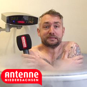 Hitradio Antenne Eissauna Beitrag von Niels Kristoph