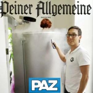 Peiner Allgemeine Zeitung (PAZ): Speckröllchen werden schockgefrostet