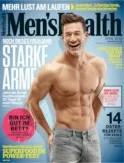 Men's Health Eissauna, April Cover, Kryosauna, Kältekammer