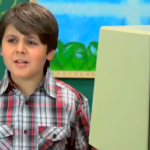 kids react old computer