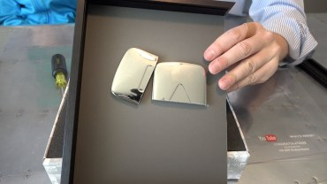 Inside the YouTube play button
