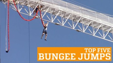 Five impressive bungee jumps
