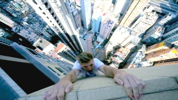 People doing breathtaking stunts