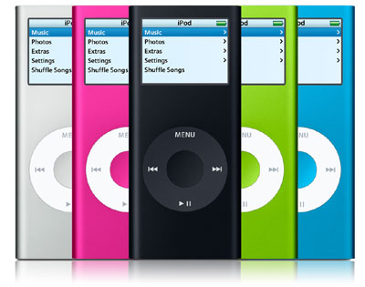New Color iPod Nano