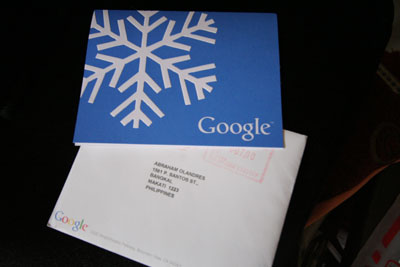 Google Christmas Card