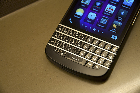 BB Q10 keyboard