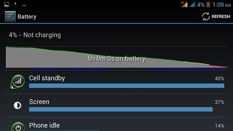 cosmos x2 battery life