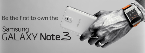 note 3 first day promo