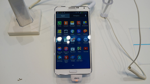 Samsung Galaxy Note 3 during its IFA launch last year.