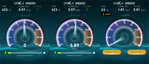 SPEED TEST PING HIGH