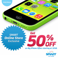 iPhone 5C 32GB now free on Smart All-In Plan 1800